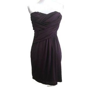 Express Womerns Size S Strapless Draped Dress Stre